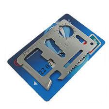 Multi tool Card attrezzi Camping campeggio carta kit regalo MULTIFUNZIONEhy