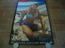 Miller Genuine Draft-Poster-18x26-Rolled -2000-Very Hard To Find