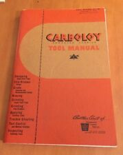 Carboloy Cemented Carbide Tool Manual from 1949