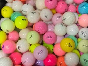 AAA-AAAAA Value to Mint Condition Used Crystal Golf Balls Assorted Brands