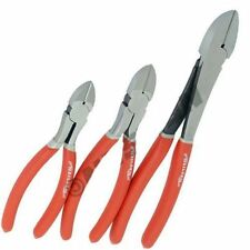 """Neilsen 3 Piece Side Cutter Plier Set Heavy Duty Snips Cutters Pliers 6,8 &10"""""""