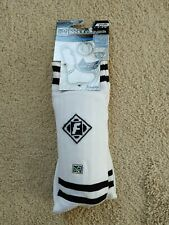 New Mls Franklin Pro Sock'R Guards Shinguards Youth M White Ym 4' - 4'10