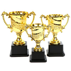 1PCS Gold Awards Trophy Children School Party Award Supplies  Celebrations GBBI