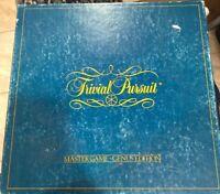 Trivial Pursuit Original GENUS MASTER Board Game 1st Edition 1981. COMPLETE
