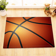 "Basketball Sports Shower Mat Bathroom Bath Mat Area Rug Non-slip Doormat 24X16"""