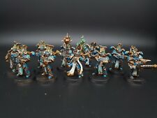 Warhammer 40k Thousand Sons Chaos Space Marines rubric Squad Pro Painted