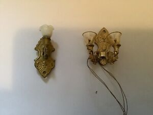 Dollhouse miniature Victorian Style Sconces