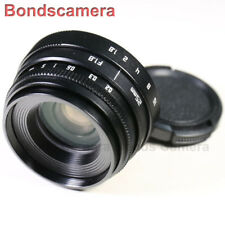 Mini 25mm F/1.8 C mount CCTV lens for APS-C sensor camera Sony NEX Micro 4/3