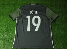 GERMANY NATIONAL TEAM GOTZE 2015/2016 FOOTBALL SHIRT JERSEY AWAY ADIDAS ORIGINAL