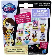 Littlest Pet Shop Cozy Snackers Blind Bags LOT OF 4!