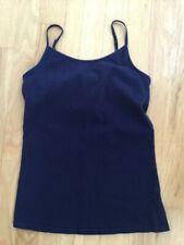 Girls Justice Navy Blue Camisole Shelf Bra Size 14