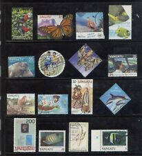Vanuatu 50 different stamps collection lot FU