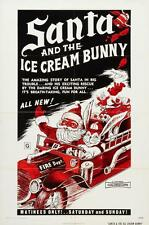 Santa And The Ice Cream Bunny Movie Poster 24x36