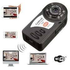 WIFI Mini DV IP Wireless Spy Cam Night Vision Camera Security For Android IOS S,