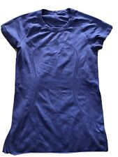 Lululemon Womens Sz 8 Run Swiftly Short sleeve top shirt