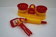 Bambola Child Size Kitchen Scales Egg Whisk Rolling Pin Pretend Play