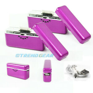 2X 2800MAH EXTERNAL PURPLE BATTERY MOBILE CHARGER USB IPHONE 4S 4 IPOD CLASSIC