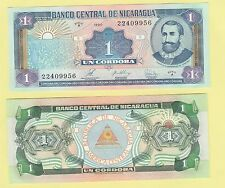 Nicaragua P173, 1 Cordoba, Francisco Cordoba / arms, 1995 UNC see UV