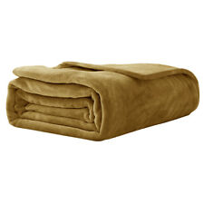 UK Soft Bedsure Sherpa Flannel Velvety Warm Blanket Fleece for Bed and Couch
