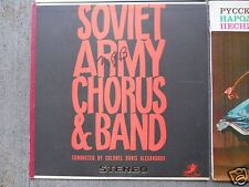 Vintage USSR Russian Record Lot Ten Records Folk Songs to Arias to Soviet Chorus
