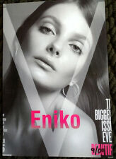 Eniko Mihalik model agency card Victoria Secret fashion model vogue elle numero