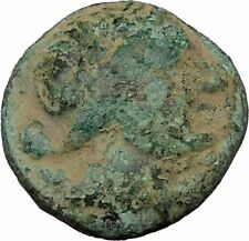 Greek city of Perge in Pamphylia 2ndCenBC Ancient Greek Coin Artemis Stag i37901