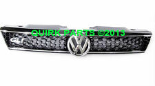 11-14 VW Volkswagen GLI Front Black Radiator Grill Grille WITH Emblem OEM NEW