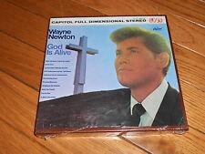 Vintage- Wayne Newton- God is Alive- Reel to Reel-Sealed