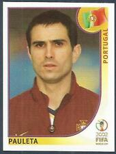 PANINI KOREA/JAPAN WORLD CUP 2002- #310-PORTUGAL-PAULETA