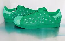Men's Adidas Superstar Xeno Shoes , FRESH GREEN - Size 11 US