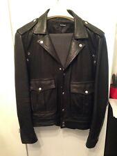 THE KOOPLES veste en cuir Biker Veste L/48-50/perfecto leatherjacket NP 8