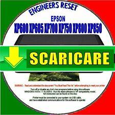EPSON XP750 XP800 XP850 Ripristino contatore del tampone di inchiostro SCARICARE
