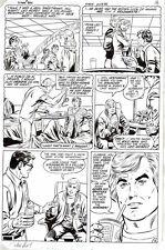 Superman ORIGINAL ART PAGE Curt Swan 1983 DC Pencil & Ink DC Comics #384 Clark K