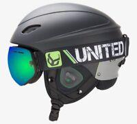 Phantom Helmet w/Audio and Snow Supra Goggles