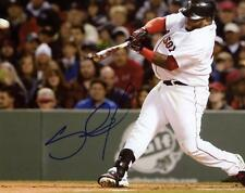 PABLO SANDOVAL BOSTON RED SOX SIGNED AUTOGRAPHED 8X10 PHOTO W/COA