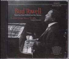 Bud Powell - Lover Come Back To Me (Broadcast Performances) CD Album