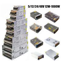 DC5/12/24/48V 12W- 1000W Trafo Netzteil Treiber Driver Transformator LED Strip