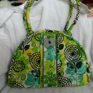 Vera Bradley Eloise in Limes Up pattern