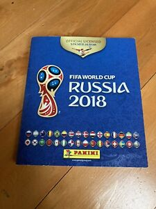 Russia 2018 World Cup Panini 100% Complete. Excellent.