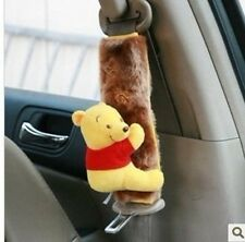 New Winnie the Pooh Car Seat Belt Seatbelt Cover Pair PH-41