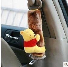 New Winnie the Pooh Car Seat Belt Seatbelt Cover Pair PH-41