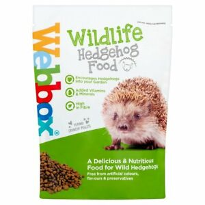 Wildlife Hedgehog Food - Webbox 400g