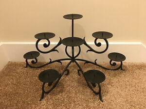 candle holder black wrought iron from Pottery Barn