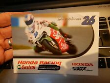 More details for honda racing john mc guinness postcard