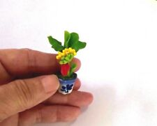 Banana Tree Miniature DollHouse Handcraft Collectibles Decorative Clay Home