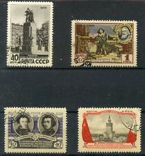 TIMBRE URSS RUSSIAN RUSSIE RUSSIA OBLITERE N° 1754/1757