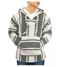 Aunthentic Mexican Baja Women's Poncho Hoodie super soft Small