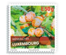Luxembourg 2018  PLUMS  BOOKLET    mnh/postfris c