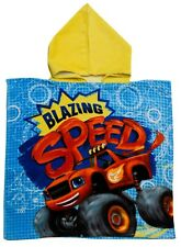 Blaze and the Monster Machines Poncho Boys Kids Sun Protect Holiday Towel