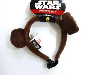 Disney Star Wars Princess Leia Dog Pet Headband Costume Size M/L